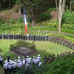 Military Gathered at the Tomb