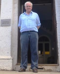 Archaeologist John Barber
