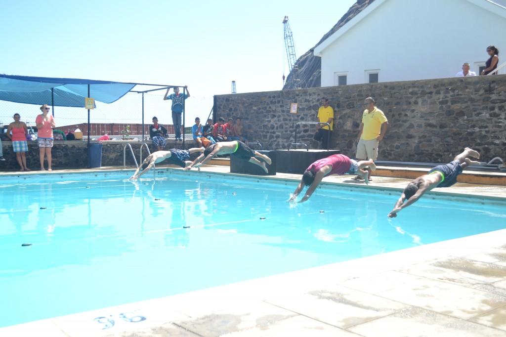 Prine Andrew Schools Swimming Gala 2014 - Front Crawl, Boys