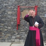 Bishop Richard Blesses the Terminal Building
