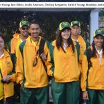 St Helena Commonwealth Games Team