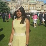 Stacey at Buckingham Palace - Garden Party