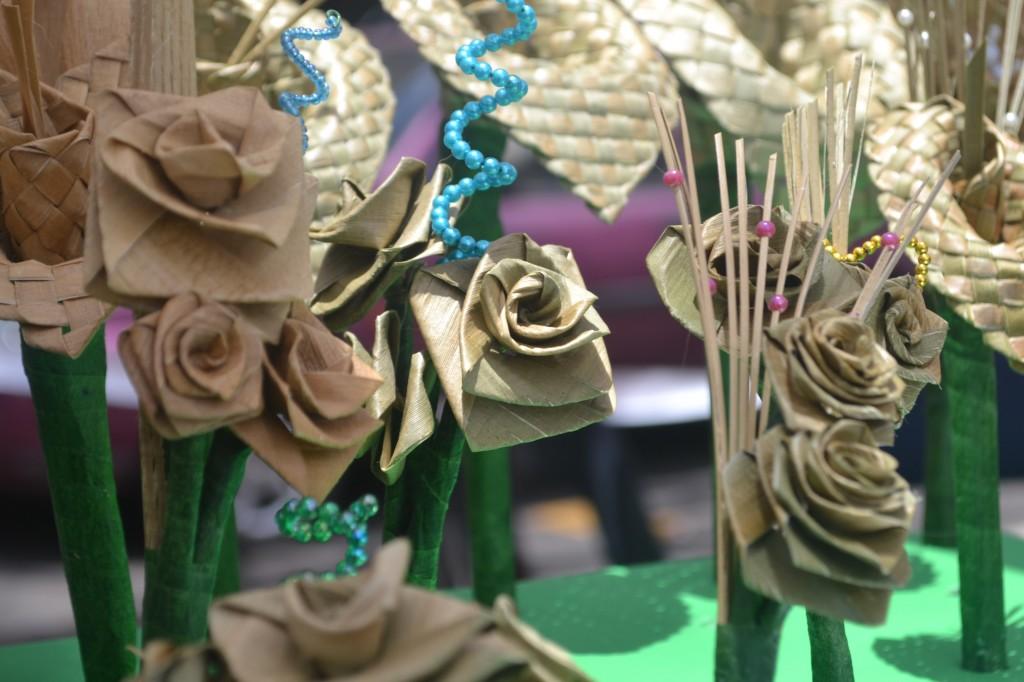 Decorative flex lilies