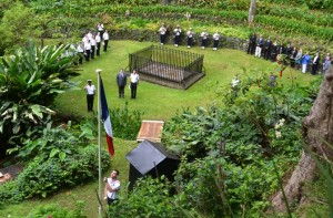 Ceremony at Napoleon's Tomb