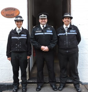 Constable Benjamin, Chief of Police Trevor Botting, Constable John