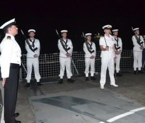 Onboard HMS Lancaster