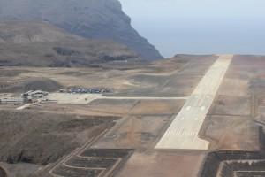 Wildcat over St Helena Airport