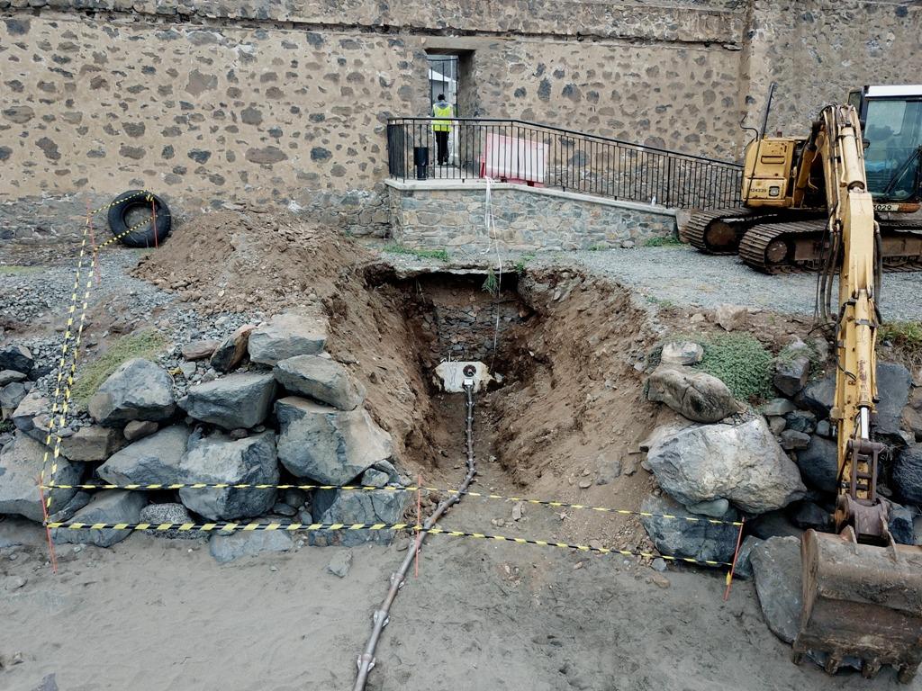 Fibre Optic Cable Excavation